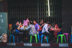 Życie Chinatown Fotografia Stock