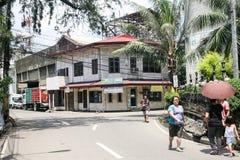 Życie codzienne filipińczycy w Cebu mieście Filipiny Zdjęcia Royalty Free