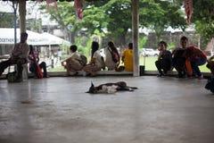 Życie codzienne filipińczycy w Cebu mieście Filipiny obraz royalty free