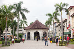 Życie codzienne filipińczycy w Cebu mieście Filipiny zdjęcie royalty free