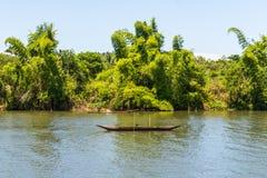 Życie codzienne na rzece, Madagascar, Afryka Wschodnia Fotografia Stock