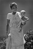 życie indyjska wioska Obrazy Royalty Free