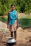 życie indyjska wioska Zdjęcie Royalty Free