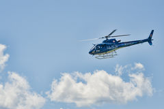 Życie lota helikopter Obrazy Royalty Free