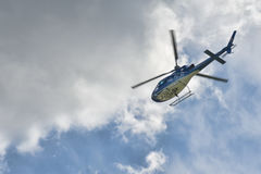 Życie lota helikopter Obraz Royalty Free
