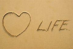 życie miłość Zdjęcia Royalty Free