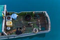 Życie na drewnianej łodzi Obraz Royalty Free