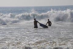 ŻYCIE NA KEHEI plaży Obraz Royalty Free