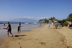 ŻYCIE NA KEHEI plaży Fotografia Stock