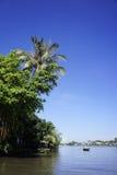 Życie na MeKong rzece Zdjęcie Royalty Free