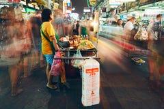 Życie nocne w Bangkok Zdjęcie Royalty Free