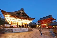 Życie nocne w Kyoto, Japonia obraz royalty free