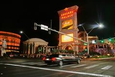 Życie nocne w Las Vegas - pasek Obraz Stock