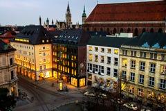 Życie nocne w Monachium Obrazy Royalty Free