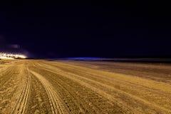 Życie nocne w Montevideo, Urugwaj Zdjęcia Stock