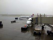 Życie podczas lota od Hawaii stały ląd Seattle usa Obraz Stock