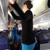 Życie podczas lota od Hawaii stały ląd Seattle usa Obraz Royalty Free