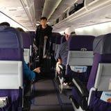 Życie podczas lota od Hawaii stały ląd Seattle usa Obrazy Royalty Free