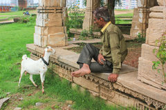 Życie przy dziedzictwa miejscem Sarkhej Roza Zdjęcia Royalty Free