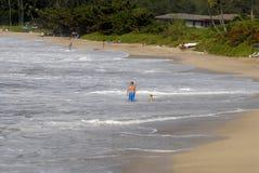 ŻYCIE PRZY MAKENA plażą Zdjęcie Royalty Free