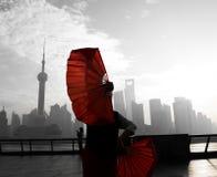 życie Shanghai Fotografia Royalty Free
