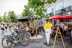 Życie w Antwerpen mieście Fotografia Stock