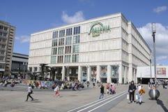Życie wokoło alexanderplatz Zdjęcie Royalty Free