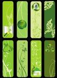 życiorys eco zieleni set Zdjęcie Stock