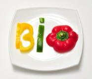Życiorys jedzenie fotografia stock