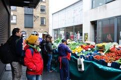 życiorys rynku otwarci warzywa Obrazy Royalty Free