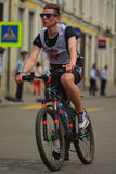 Сyclist Royalty Free Stock Images