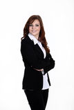 Życzliwa biznesowa kobieta Zdjęcia Royalty Free