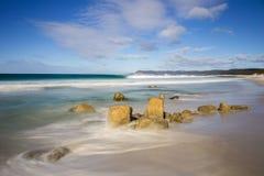 Życzliwe plaże obrazy royalty free