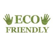 życzliwy eco logo Zdjęcia Royalty Free