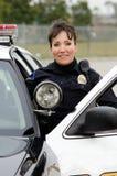 Uśmiechnięty oficer Zdjęcie Stock