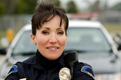 Uśmiechnięty oficer Fotografia Stock