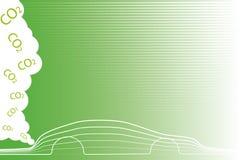 życzliwy samochodowy eco Zdjęcia Royalty Free