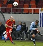 życzliwy Urugwaj Dopasowanie Zdjęcie Royalty Free