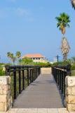 Życzy most w Jaffa Fotografia Stock