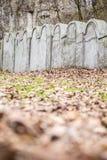 Żydowska getto ściana, Krakow, Polska zdjęcie stock
