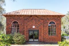 Żydowska kaplica w Historycznym Bonaventure cmentarzu zdjęcia stock