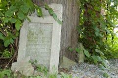 Żydowski cmentarz Lezajsk, Polska - Obraz Stock