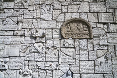 Żydowski Disctict w Krakow Kazimierz, Polska Zdjęcie Royalty Free