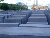 Żydowski holokausta pomnik w Berlin Zdjęcia Royalty Free