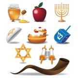 Żydowskie ikony Royalty Ilustracja