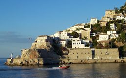 Ydra Insel Griechenland Stockfotos