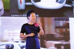 YE broncea discurso en la ciudad amoy, China Imágenes de archivo libres de regalías