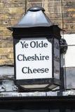 Ye Olde Cheshire Cheese Pub in Londen stock fotografie