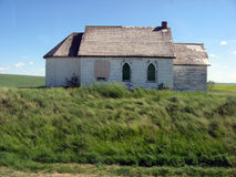 Ye olde house. In Saskatchewan Stock Images