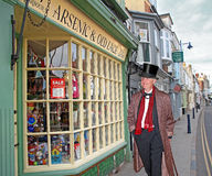 Ye olde worlde shoppe gent Stock Images